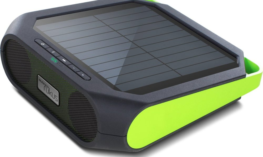 5 Solar Speakers for iPhone and MP3 Players