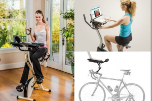 2 Exercise Bike Laptop Holders and Mounts