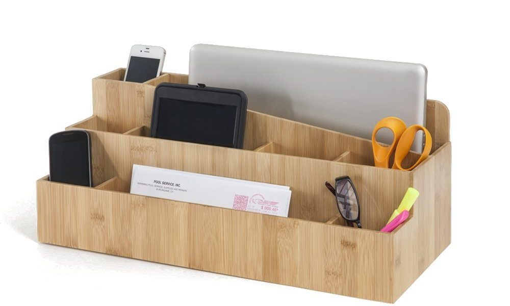 3 Handy Desktop Organizers for Tablets & Smartphones