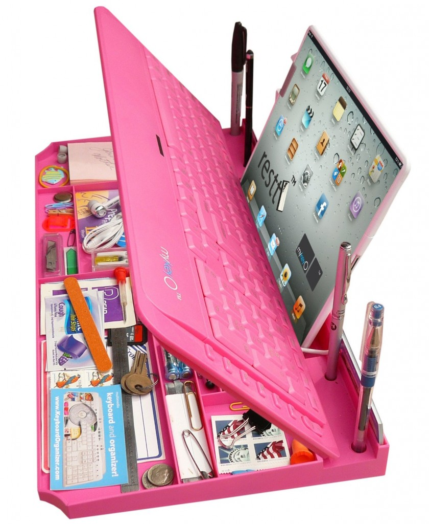 in 1 Keyboard and Organizer : a keyboard and tablet organizer. It