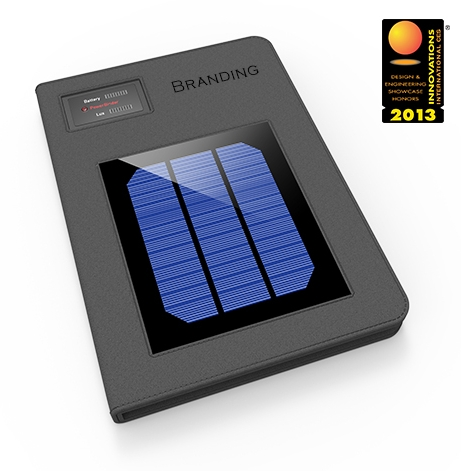 PowerBinder: Solar Charger & iPad Holder