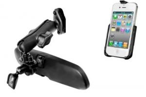 3 Rear View Mirror Mounts for Phones