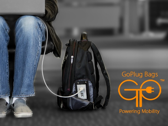 GoPlug – Powered Bags for Your Gadgets