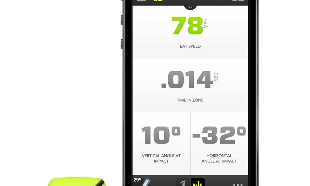 Zepp 3D Baseball Swing Analyzer for iPhone, Android