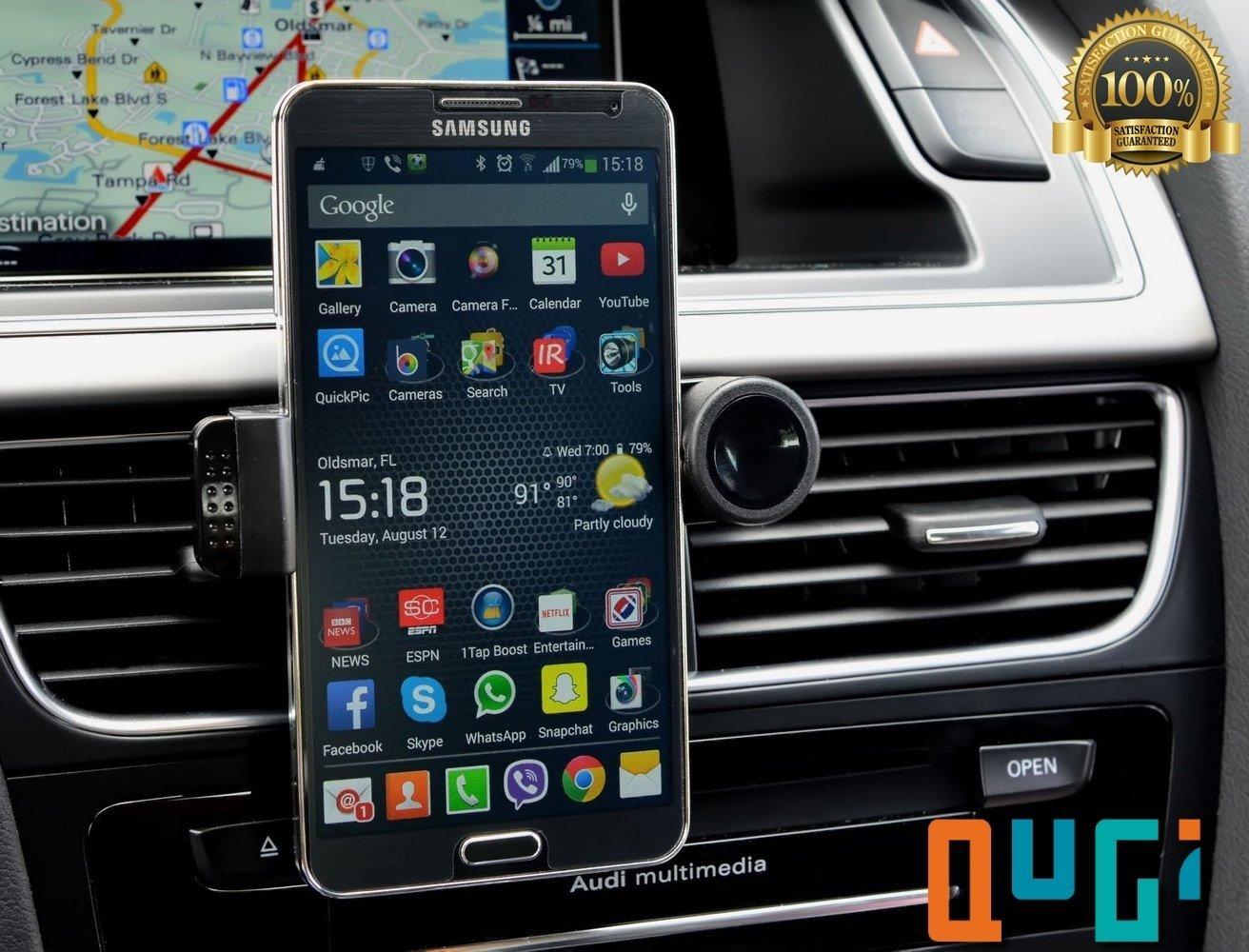 iphone holder for car. qugi iphone holder for car