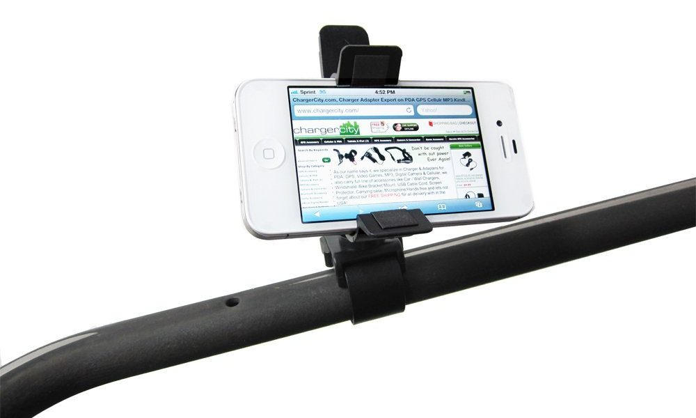 3 iPhone Holders for Shopping Carts