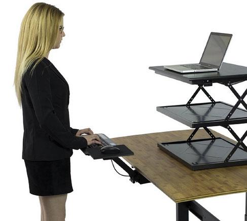 KT2 Adjustable Keyboard Tray for Standing Desks