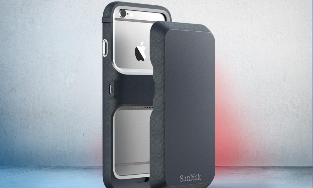 SanDisk Memory Case for iPhone 6s with 128 GB Storage