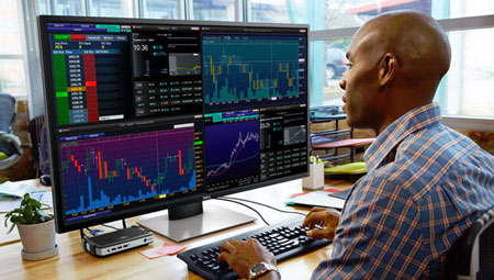 3 40-inch or Larger 4K Monitors