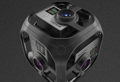 5 360-Degree VR GoPro Mounts