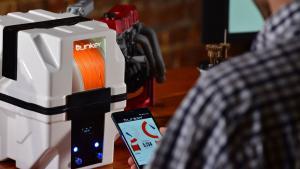 Bunker: Smart Filament Storage System for 3D Printers
