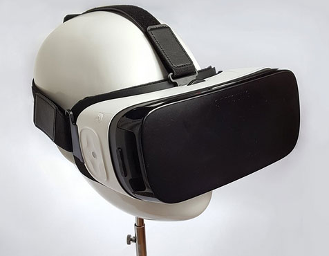 DeltaVR Virtual Reality Headset Stand