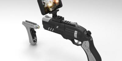 3 Gun Controllers for Virtual Reality Gaming