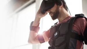 Hardlight VR Suit with Haptic Feedback