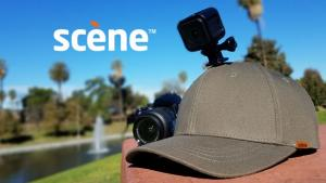 Scene: Cam with Built-in Camera Mount