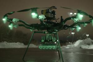 250,000 Lumen Drone LED Light for Night Flying