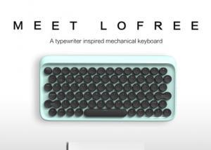 lofree: Typewriter Mechanical Keyboard with Bluetooth