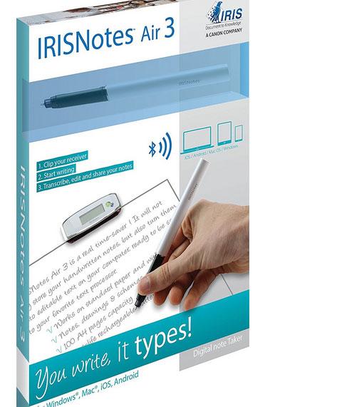 IRIS Notes 3 Air Bluetooth SMARTPen