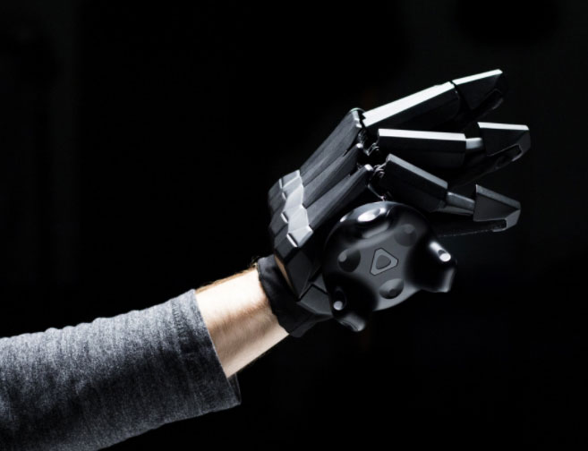VRgluv Force Feedback Haptic Gloves for Oculus Rift & HTC Vive