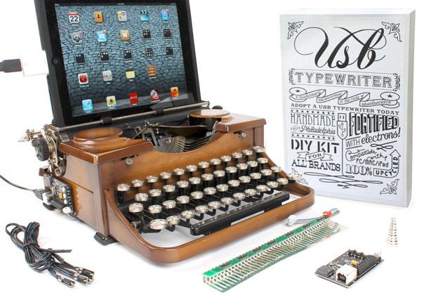 Bluetooth USB Typewriter to Keyboard Converter