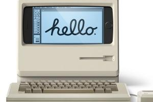 M4 Stand Turns Your iPhone Into a Macintosh
