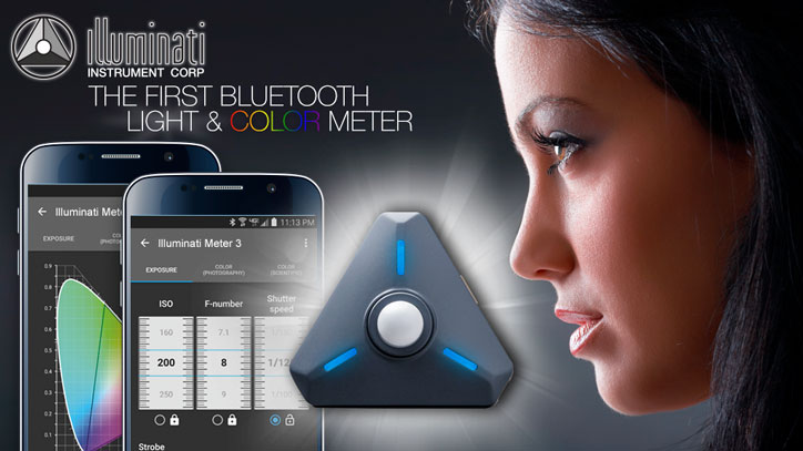 Illuminati: Smart Light & Color Meter for Filmmakers