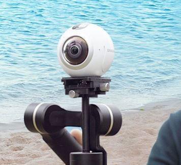 3 360-Degree Camera Gimbals