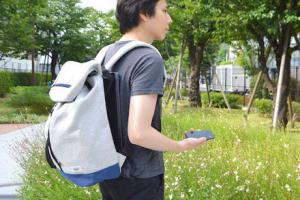 Backpack Cooling Fan Keeps You Cool In the Summer