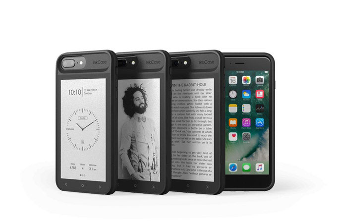 InkCase i7 Plus: iPhone 7 Plus Case with 2nd E-ink Display