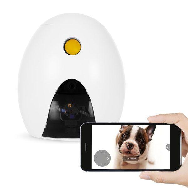 FunPaw Playbot Q Robot Camera & Pet Feeder