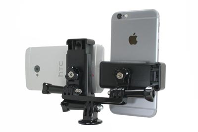 Livestream Dual Smartphone Steaming Grip