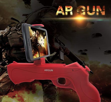 FourPlusOne AR Game Gun for iOS & Android
