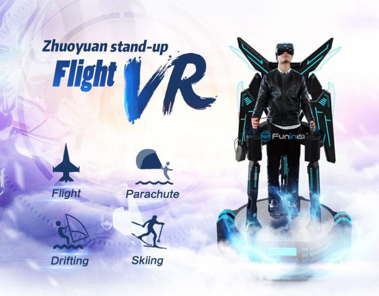 Zhuoyuan Stand Up Flight VR Simulator
