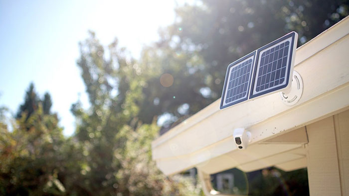Lynx Solar Weatherproof WiFi Security Camera