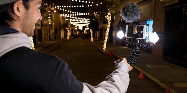 GorillaPod Smartphone Rig for Vloggers