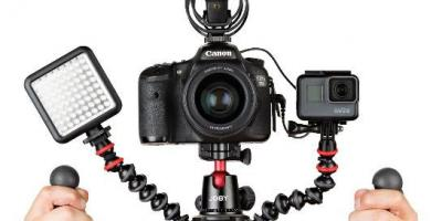 GorillaPod Rig: Flexible Tripod Rig for DSLR Cameras