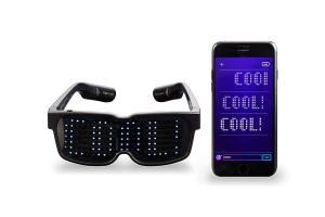 CHEMION Bluetooth LED Glasses Can Display Animation, Messages