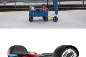 Hoverwagon: Wagon for Your Hoverboard