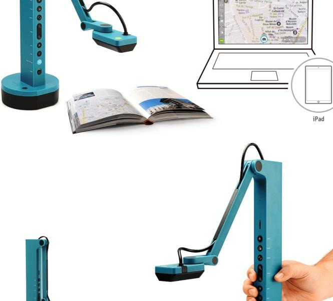 IPEVO VZ-X WiFi, HDMI & USB 8 MP Document Camera