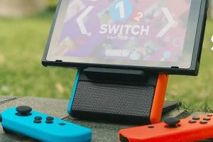 Switch Echo: Nintendo Switch Speaker Battery Stand