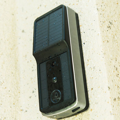 Soliom: Solar Wireless Video Doorbell
