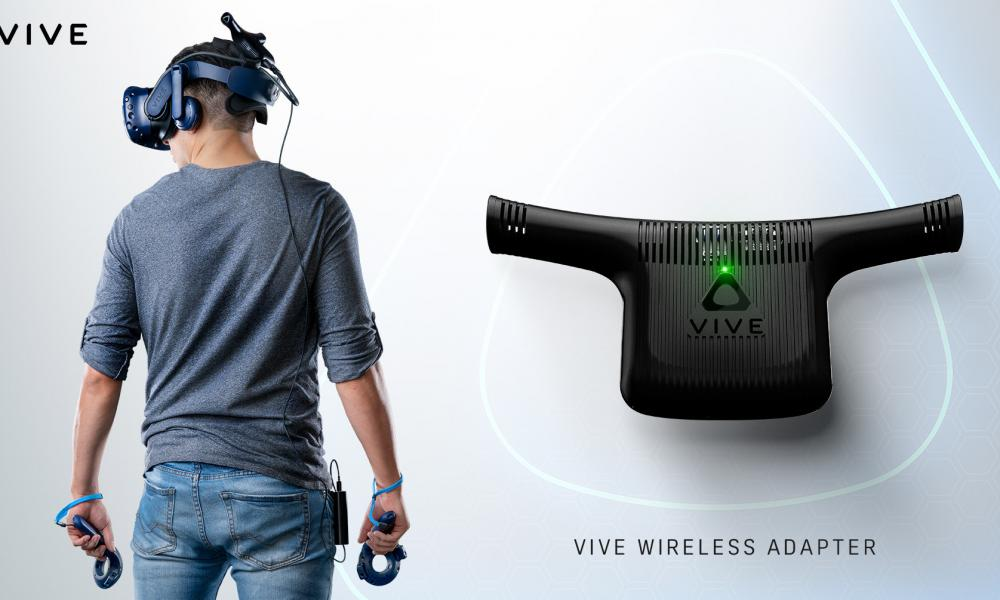 Vive Wireless Adapter for HTC Vive