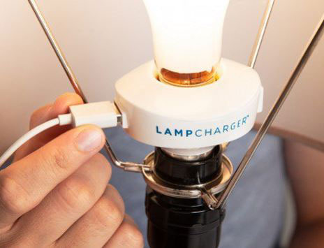 LampCharger: Turns Any Lamp Into a Charger