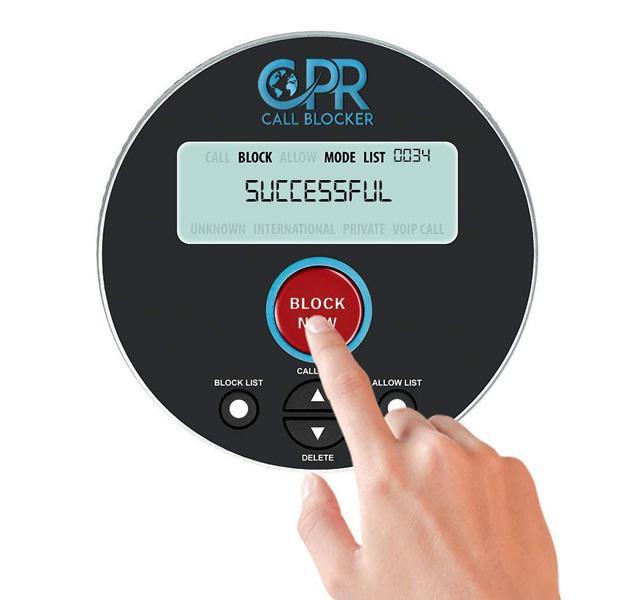 CPR Call Blocker V10000 Blocks Spam & Unwanted Calls