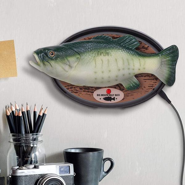 Big Mouth Billy Bass: Talking, Dancing Fish with Alexa