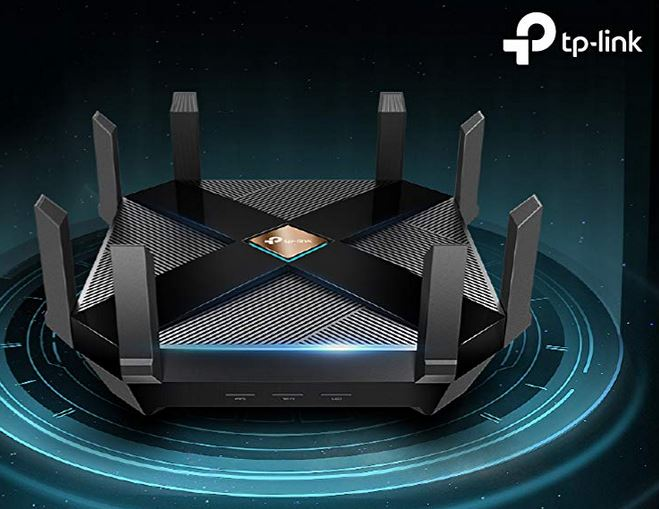 TP-Link Archer AX6000 802.11ax Router for 8K Streaming