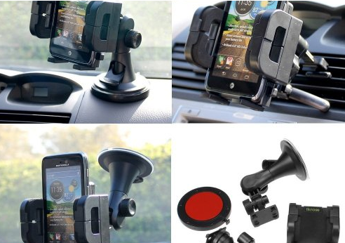 5 Cool Dashboard Mounts for iPhone 5
