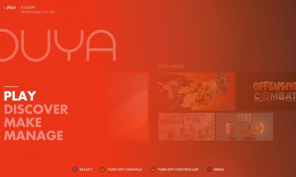 Getting Started with Ouya: Ouya and Accessories
