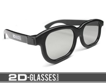 2D-Glasses: 3D to 2D Glasses To Get Rid of Headaches and Eyestrain