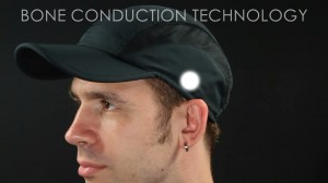 bone conduction hat.